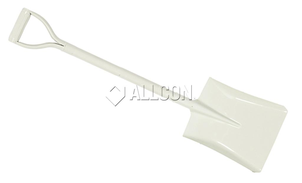 SHOVEL – SQUARE MOUTH – Wasp GT75 White D-Handle Steel Short 955mm
