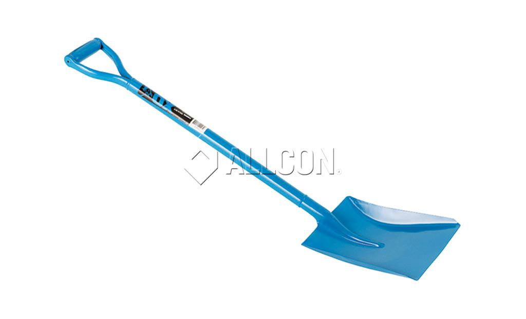 SHOVEL – SQUARE MOUTH – Ox Blue D-Handle Steel – Medium 1040mm