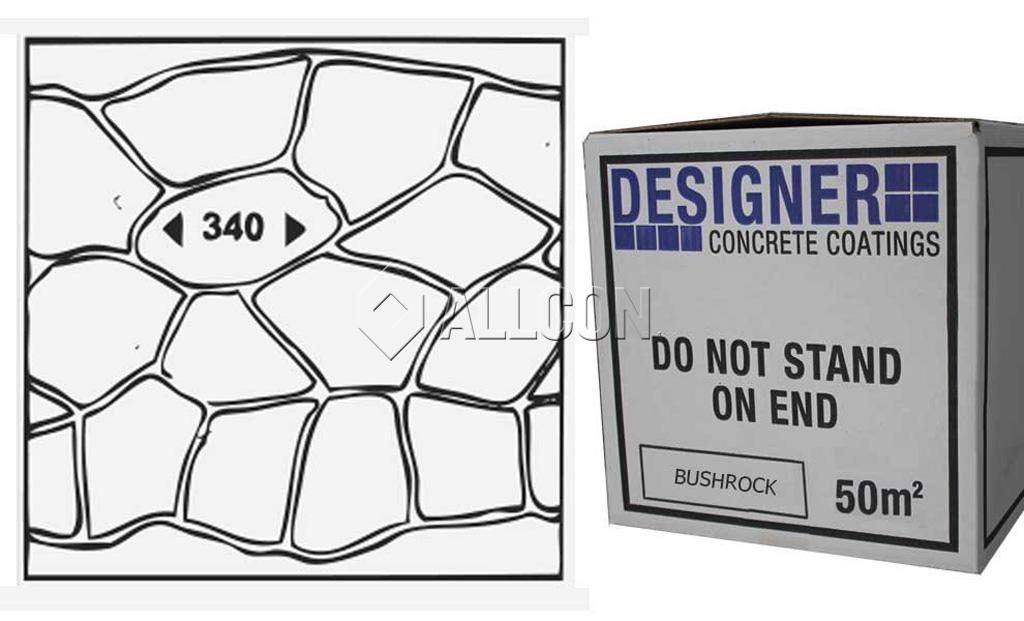 STENCIL – Designer Bushrock 50m