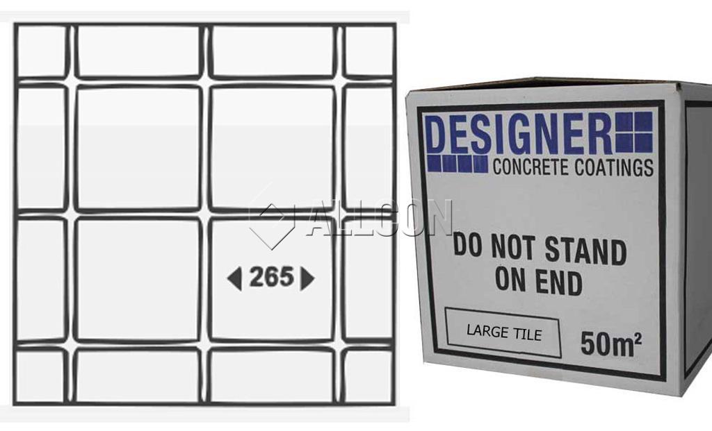 STENCIL – Designer Large Tile 50m