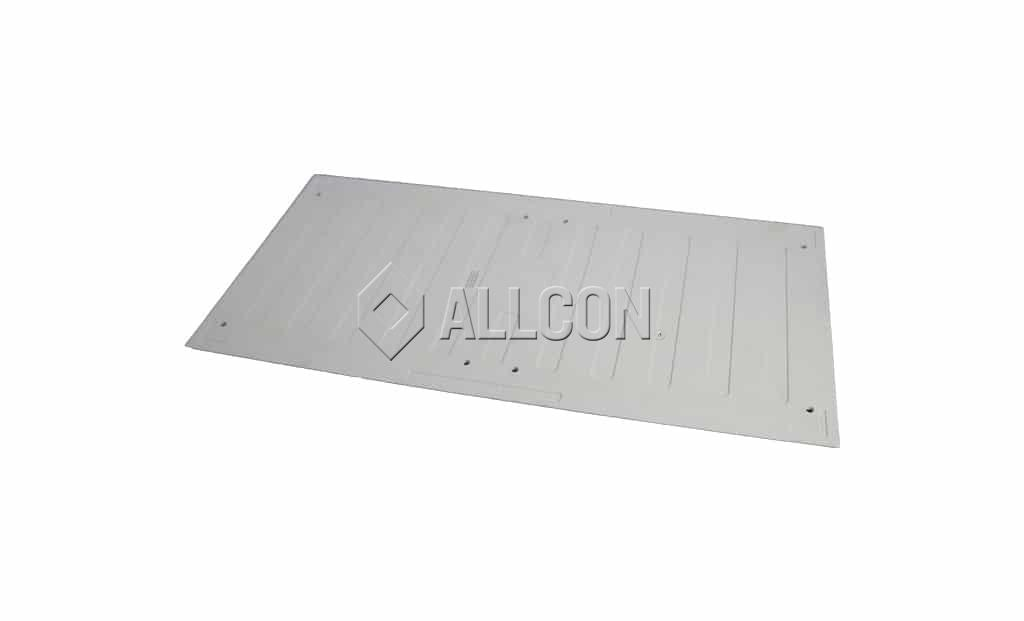 TACTILES – ESP Surface-Applied DIRECTIONAL 600 x 300mm – White – incl. Fixing Pins