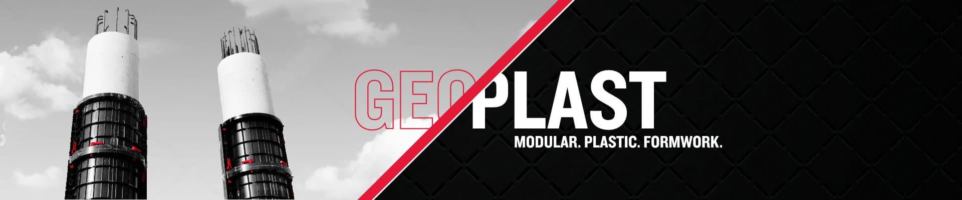 Geoplast modular formwork
